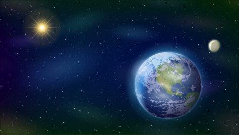 Sun Moon Stars Earth